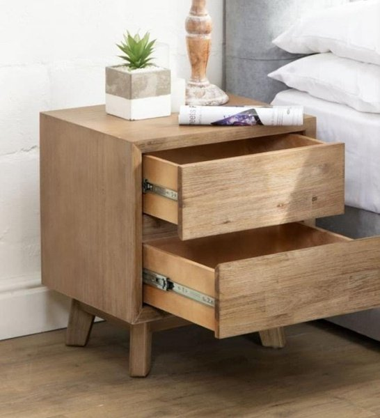 Pine bedside pedestals(night stands) picture