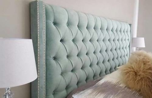 Upholstered headboards,kists,ottomans and bedside pedestals picture