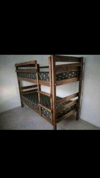 Standard double bunk beds picture