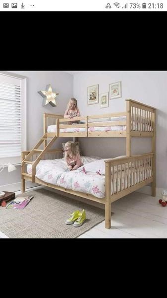 Christine tri bunk beds picture