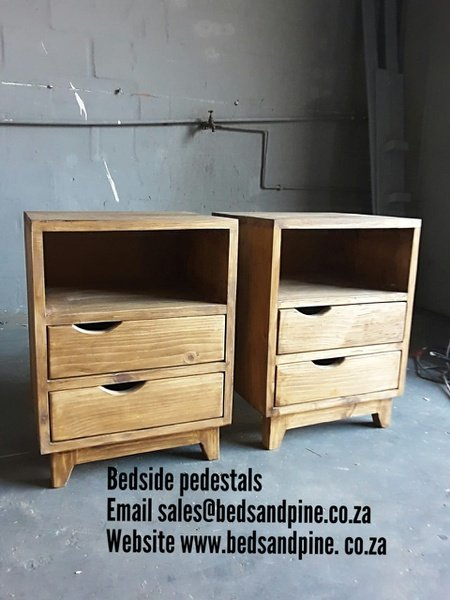 Bedside pedestals and tables picture