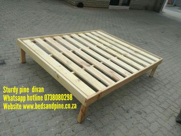 Pine divans(plain bases) picture
