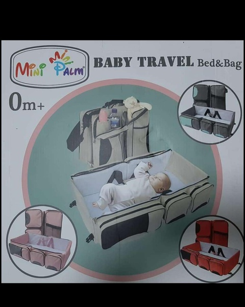 Baby travel bed and bag picture
