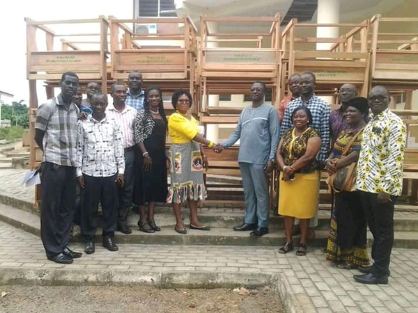Furniture support from the shama district assembly. picture