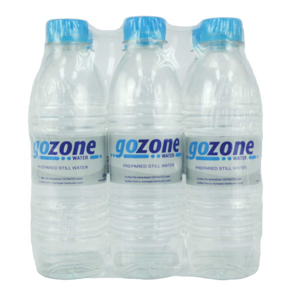 Purified remineralised ozonated water picture