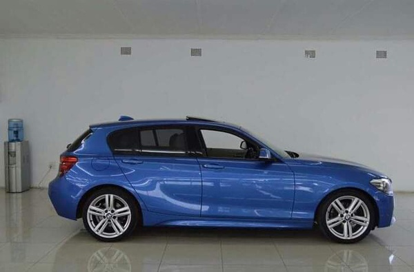 2014 bmw 1 series 120i blue picture