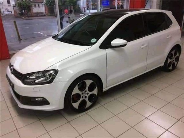 2016 vw polo gti 1.8 white picture
