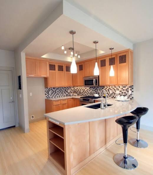 Built-in kitchen picture