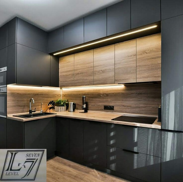 Gloss kitchens/metre span picture