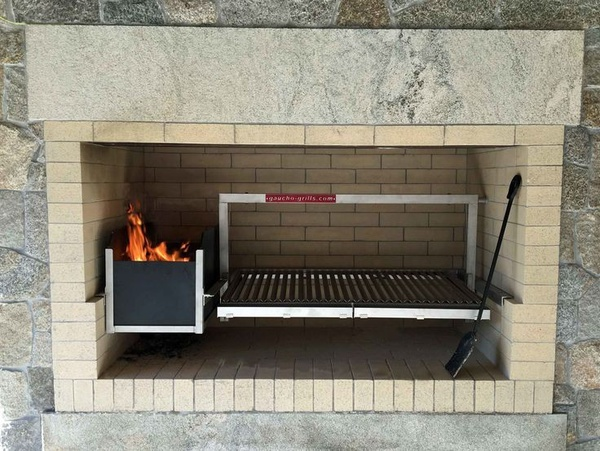 Modern fireplace picture