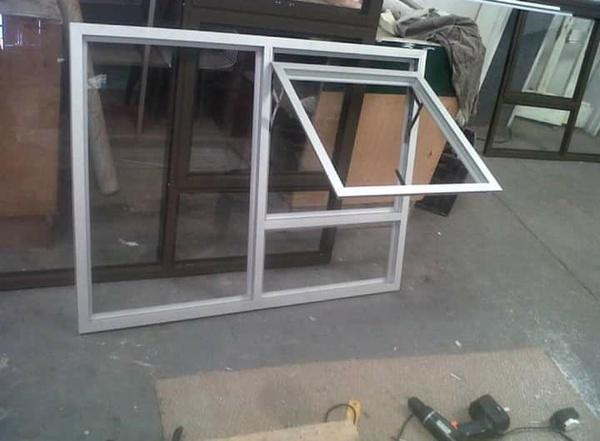 Aluminum window picture