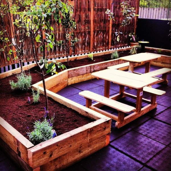 Outdoor decking picture