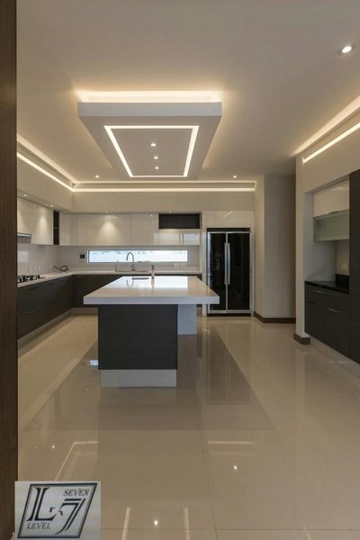 Kitchen & ceiling picture