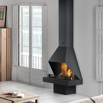 Stylish fireplace picture