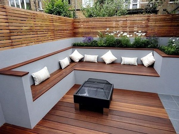 Outdoor deck picture