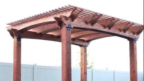 Deck poles picture