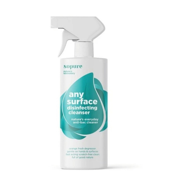 Sopure any surface disinfecting cleanser picture