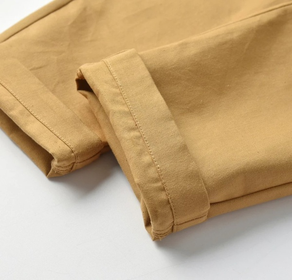 Gentlemen suit white long sleeve shirt, chino pants &  bowtie picture