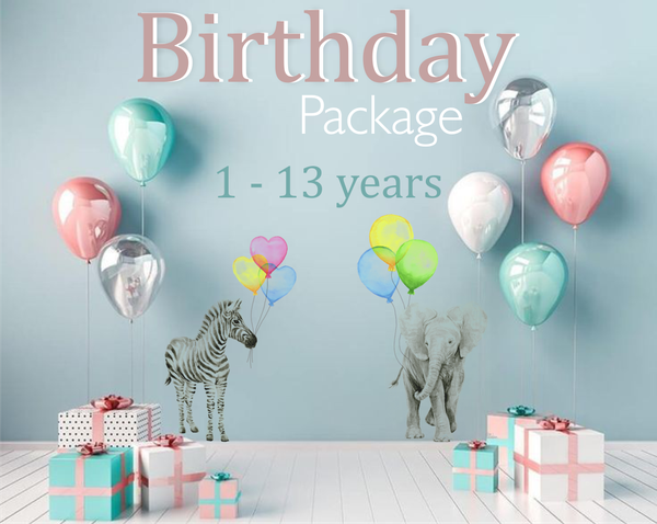 Birthday package option 1 (1 to 13 years) picture