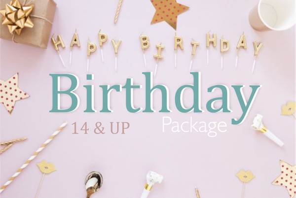 Birthday package option 2 (14 years & up) picture