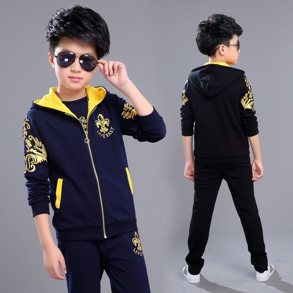 Boys sports suits picture