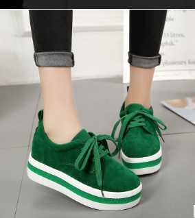 Women's thick bottom muffins shoes picture