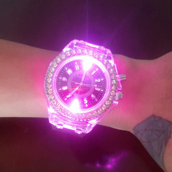Hot selling transparent watch unisex picture