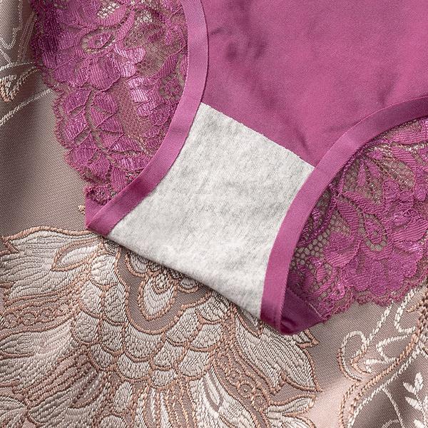 Sexy underwear for women frozen silk seamless panties picture