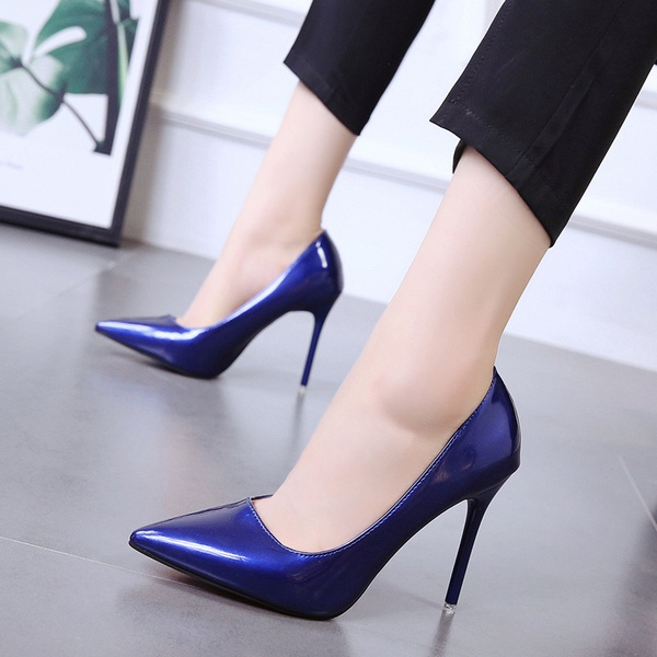 Women's pointy thin heels shoes picture
