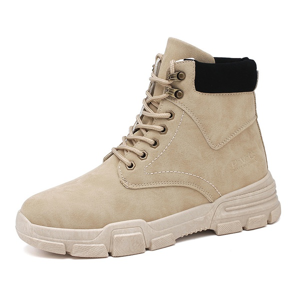 Men's leather boots picture
