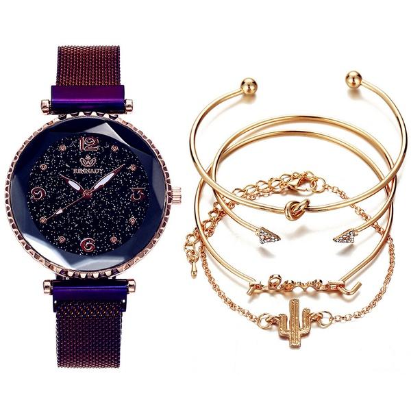 New  5 piece women's watch set picture