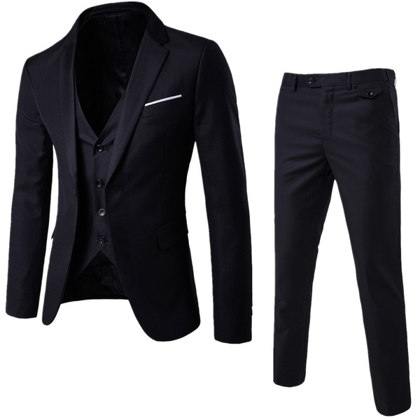 Gentlemen professional trim suits picture