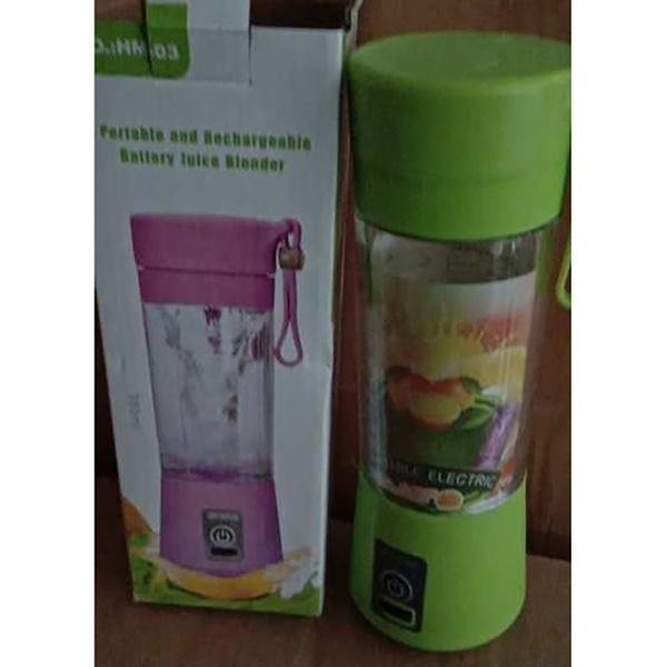Portable rechargeable juice blender picture