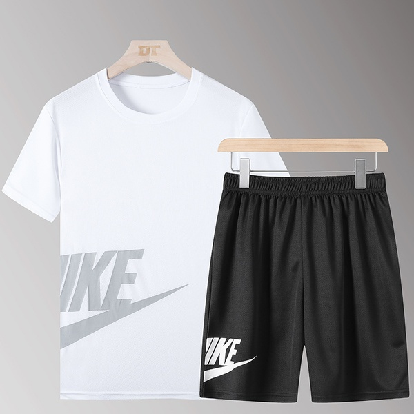Short sleeve summer short two piece set cross border foreign trade cf picture