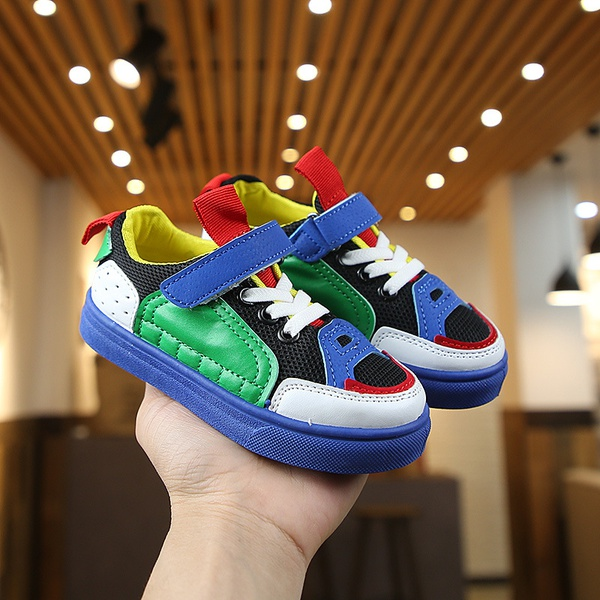 Children colourfull shoes picture