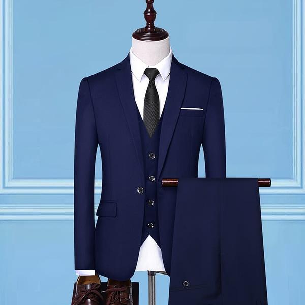 3 piece men's suits picture