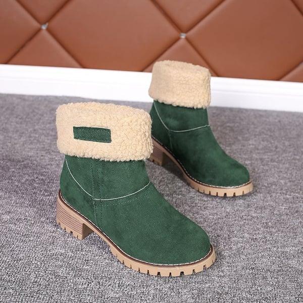 Big amazon cross border snow boots picture