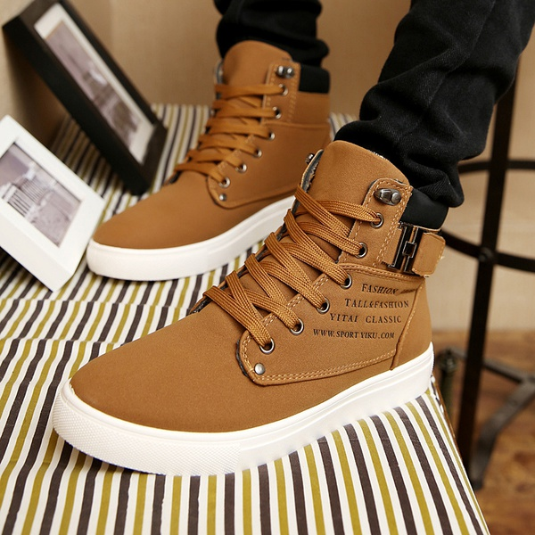 Men martin boot high top sneakers picture