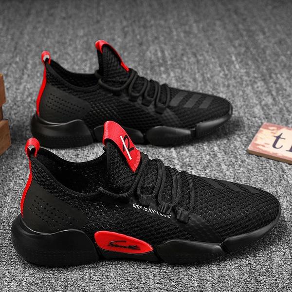 Versital fashion mesh surface shoes for men picture