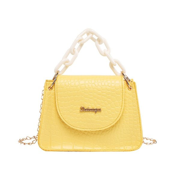Portable small square shoulder bag picture