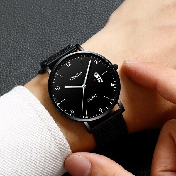 Men's business watch picture