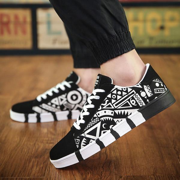 Breathable men's shoes picture