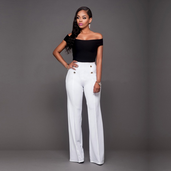 Woman's slims fashion trousers picture