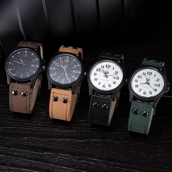 Casual quartz men's watch picture