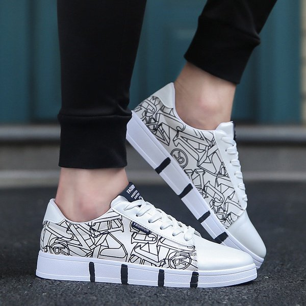 Low top fashion breathable shoes picture