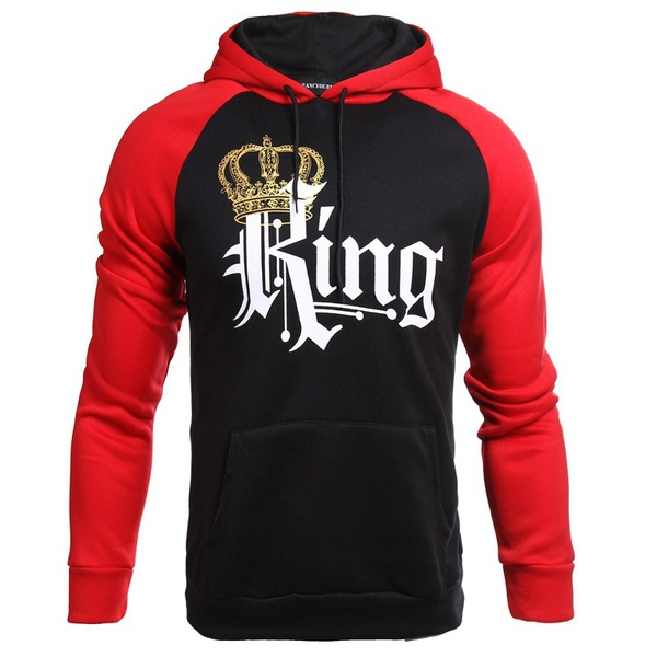 Queen & king hoodie sweater picture