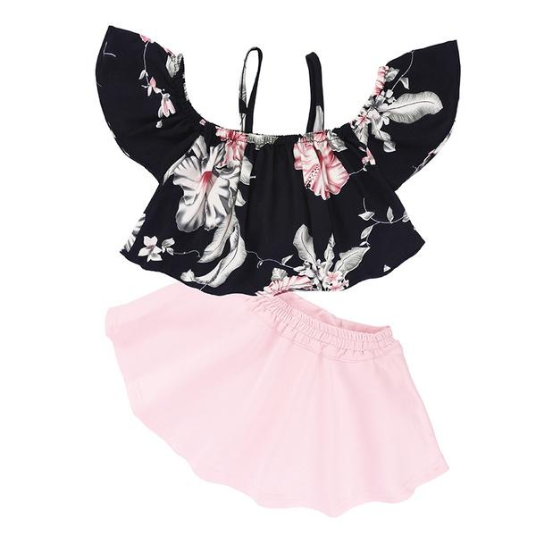Girlst-shirt & pants cloths picture