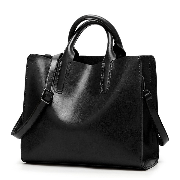 Women's leather hand bags picture
