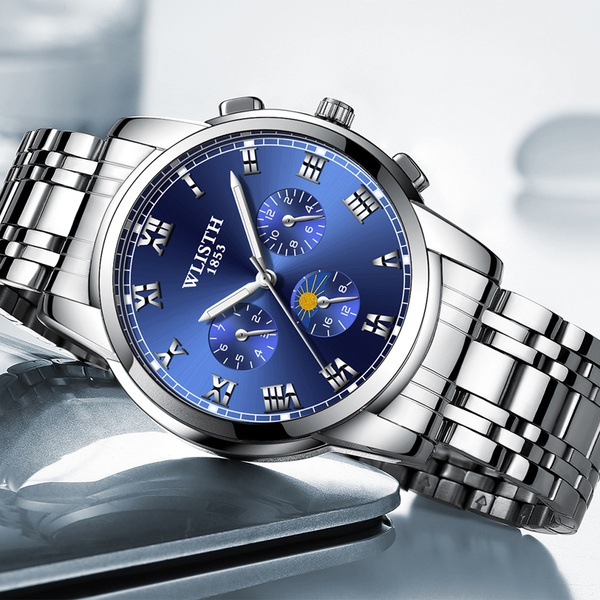 Business waterproof luminous men's watch picture