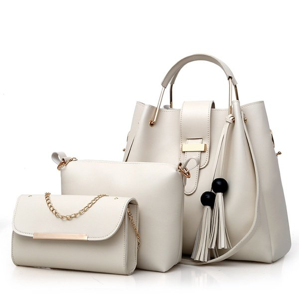 One shoulder portable leather bag picture